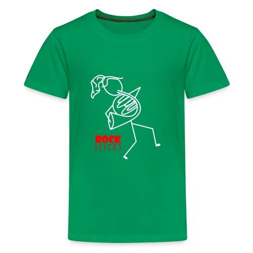 French Horn Gal - Kids' Premium T-Shirt