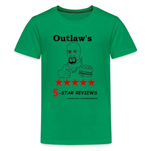 Outlaw Generation Logo - Kids' Premium T-Shirt