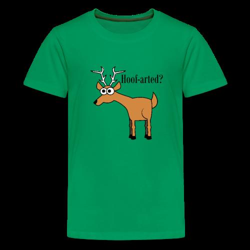 Hoof-arted? - Kids' Premium T-Shirt