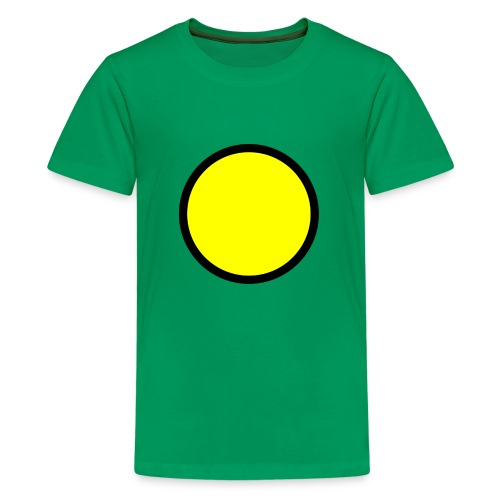 Circle yellow svg - Kids' Premium T-Shirt