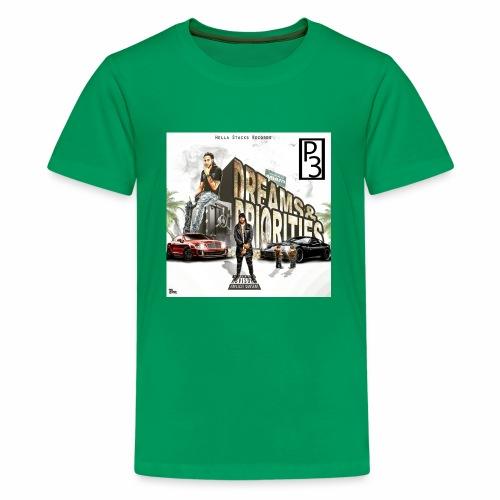 p3 mixtape cover - Kids' Premium T-Shirt
