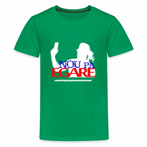 Nou pa egare Collection - Kids' Premium T-Shirt