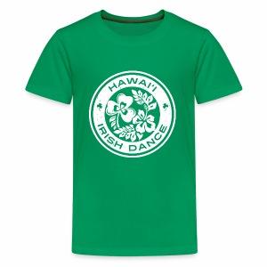 Hawaii Irish Dance Logo Distressed - Kids' Premium T-Shirt