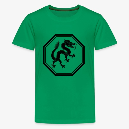 1200px Dragon svg - Kids' Premium T-Shirt