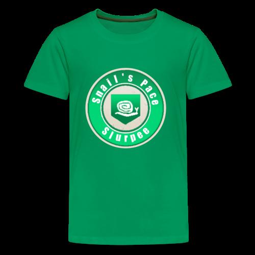 Snails Pace Slurpee - Kids' Premium T-Shirt