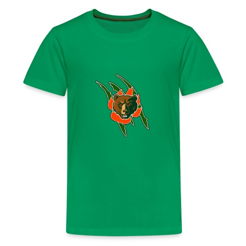RIVERSIDE POLY BEAR LOGO - Kids' Premium T-Shirt