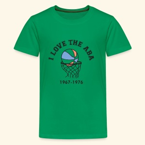 I Love the ABA - Kids' Premium T-Shirt