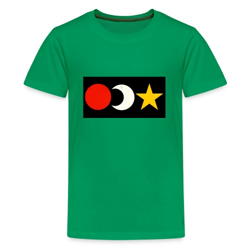 The Sun, Moon And Star. - Kids' Premium T-Shirt