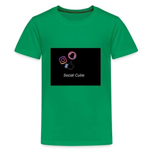 Social Cutie - Kids' Premium T-Shirt
