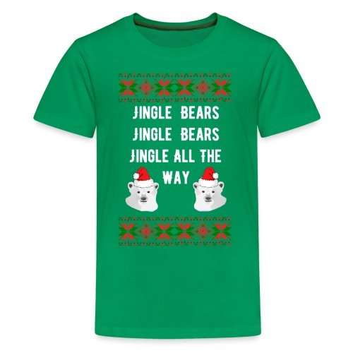 Jingle Bears (White Text) - Kids' Premium T-Shirt