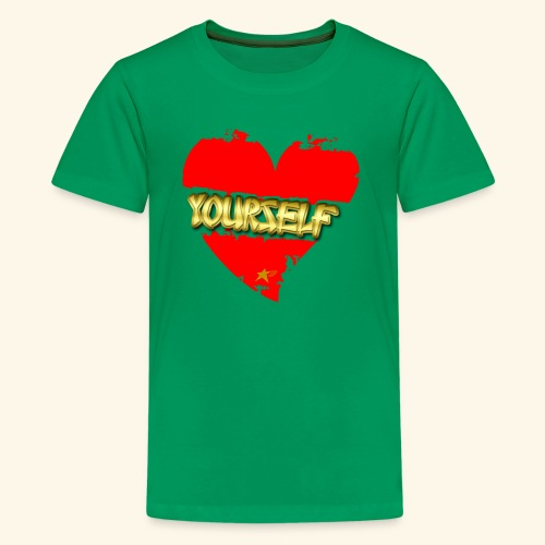 Love Yourself T-shirt - Kids' Premium T-Shirt