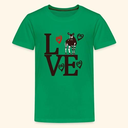 Okapi Love - Kids' Premium T-Shirt