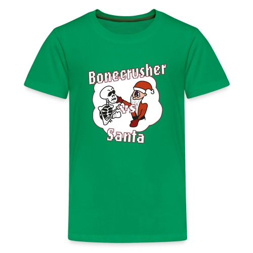 Bonecrusher Vs. Santa - Kids' Premium T-Shirt