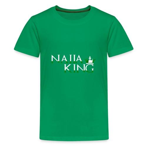 Naija King Tee Shirt - Kids' Premium T-Shirt
