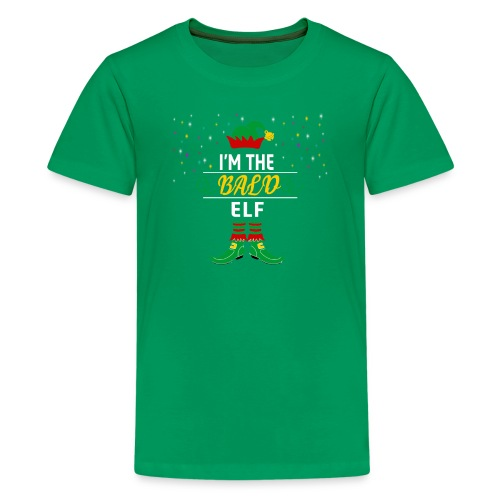I am The bald Elf Christmas gift - Kids' Premium T-Shirt