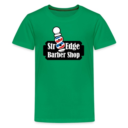Str8 Edge Logo - Kids' Premium T-Shirt