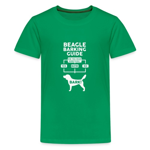 Beagle Dog T Shirt funny - Kids' Premium T-Shirt