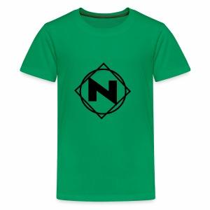 Noble - Logo - Kids' Premium T-Shirt
