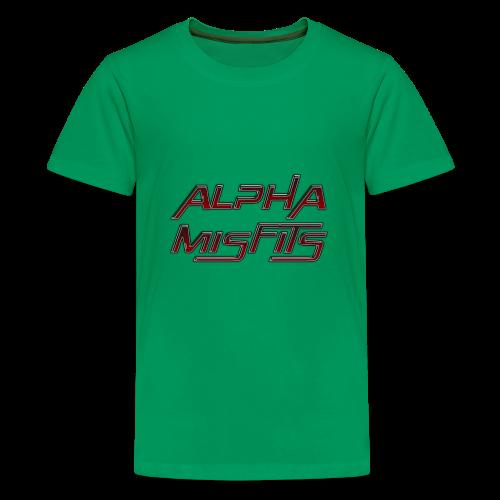 Alphamisfits Name Logo - Kids' Premium T-Shirt
