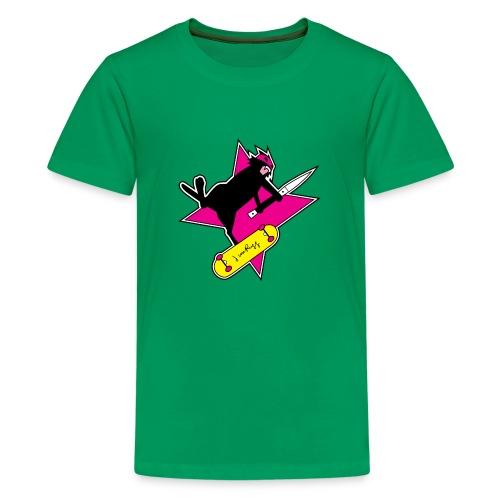 Ninja Cat Star - Kids' Premium T-Shirt