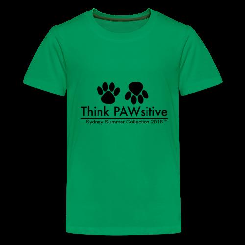 PAWsitive - Kids' Premium T-Shirt