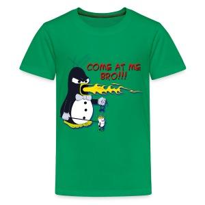 Guin - The P.O.'d Penguin - Kids' Premium T-Shirt