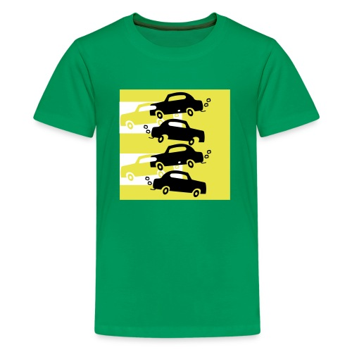 cars in the city - Kids' Premium T-Shirt