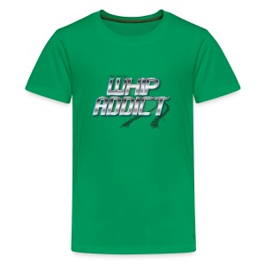 Whip Addict Logo - Kids' Premium T-Shirt