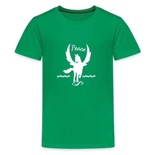 Peace Winged Horse Pegasus - Kids' Premium T-Shirt