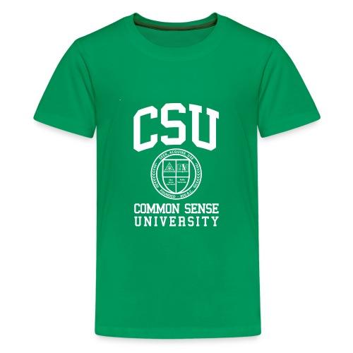 Common Sense Black T-Shirts - Kids' Premium T-Shirt