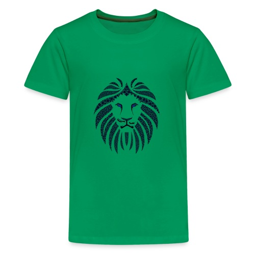lionblueyes - Kids' Premium T-Shirt