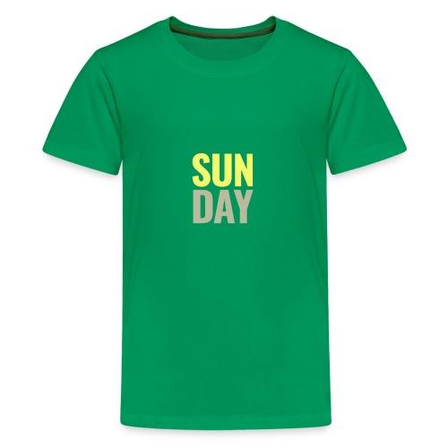 Sunday Days of the Week T-Shirt - Kids' Premium T-Shirt