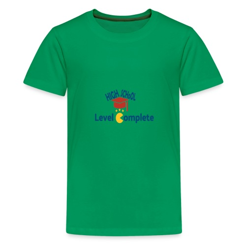funny high school level complete - Kids' Premium T-Shirt