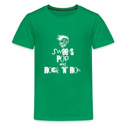 Sweets Pop Rock N Roll funny - Kids' Premium T-Shirt