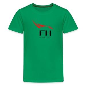 SpaceX Falcon Heavy logo - Kids' Premium T-Shirt
