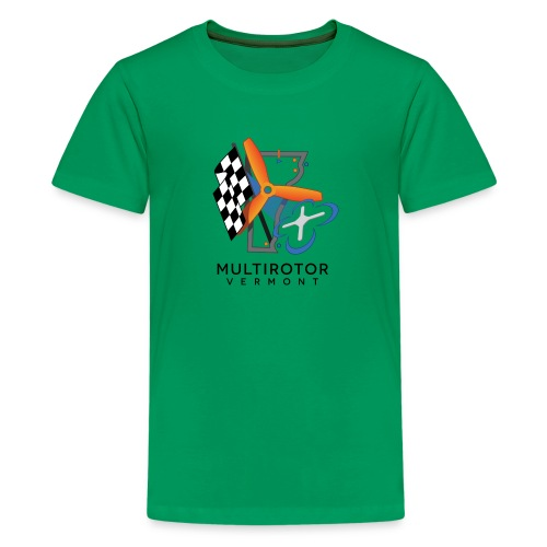 Multirotor Vermont (black text) - Kids' Premium T-Shirt