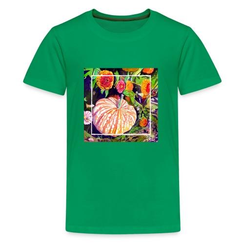 Pumpkin Watercolor - Kids' Premium T-Shirt