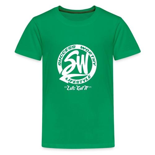 SW_white - Kids' Premium T-Shirt