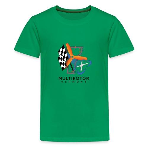 Multirotor Vermont (black text) - Kids' Premium T-Shirt
