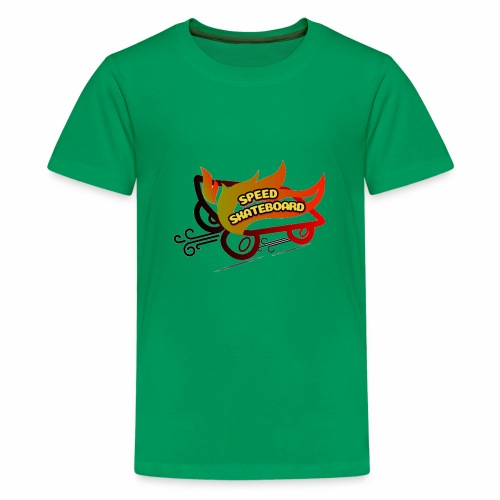 speed skateboard - Kids' Premium T-Shirt