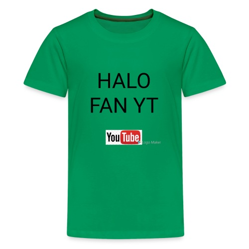Halo fan and fnaf YouTube channel merch - Kids' Premium T-Shirt
