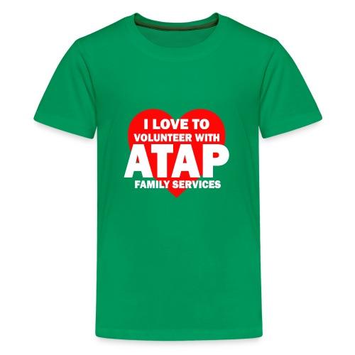 I LOVE TO VOLUNTEER - Kids' Premium T-Shirt
