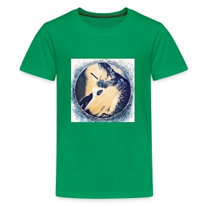 Spirit Wolfie Paint - Kids' Premium T-Shirt
