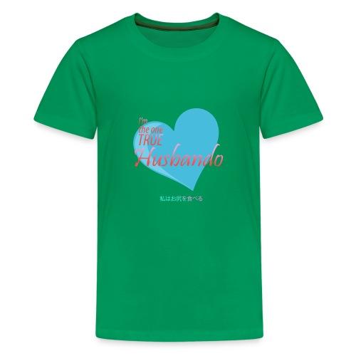 The true Husbando - Kids' Premium T-Shirt