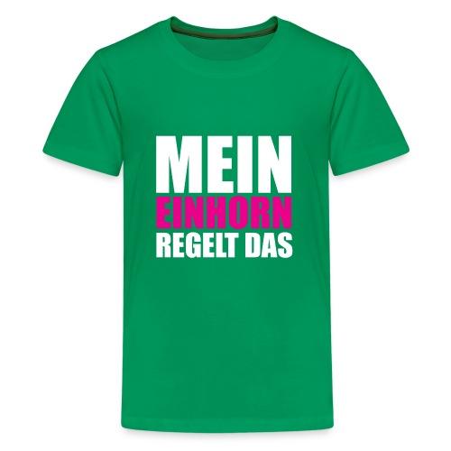Mein Einhorn - Kids' Premium T-Shirt