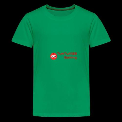 TumTum123 Gaming Emblem 2.0 - Kids' Premium T-Shirt