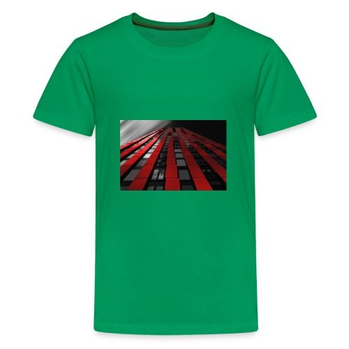 red, black & white - Kids' Premium T-Shirt