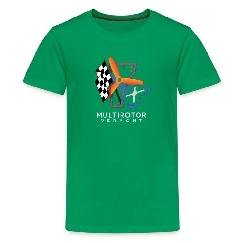 Multirotor Vermont (white text) - Kids' Premium T-Shirt