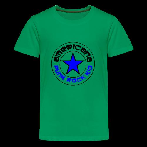 Americana Punk Rock Kid - Kids' Premium T-Shirt