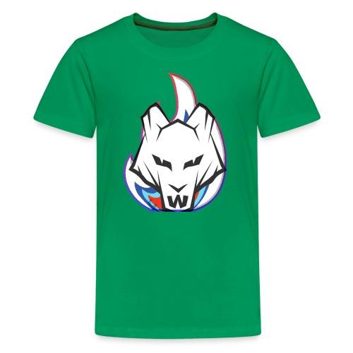 Wolf Flame - Kids' Premium T-Shirt